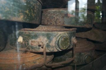 de-activated land mines