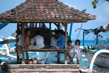 family in Bali