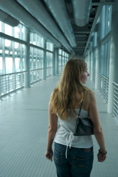 Me on the skywalk