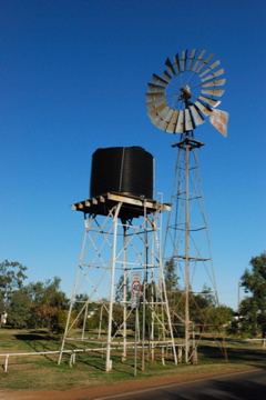 windmill in Rolleston