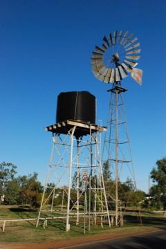 windmill in Rolleston