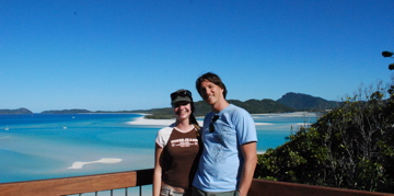 Us at the Whitsundays