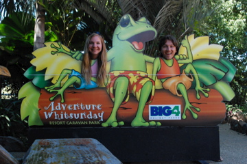 Airlie Beach frogs