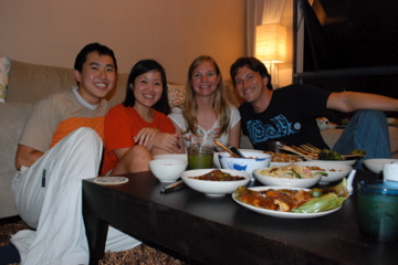 Couchsurfing with Irvin and Eunice