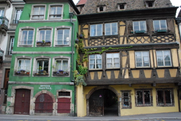 Buildings in Strasbourg