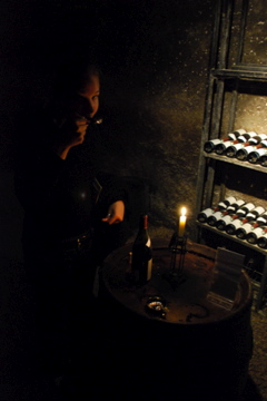 Flashpacking Wife in wine heaven!