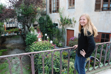 Lindsie in Beaune