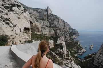 Flashpacking Wife at Les Calanques