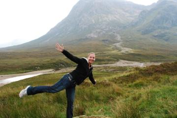 Lindsie somewhere in Scotland