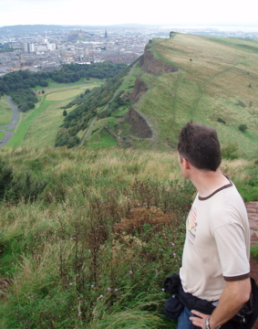 Hiking in Edinburgh