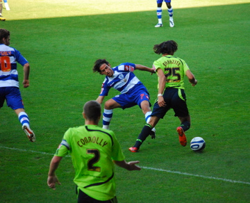 Football game - Queens Park Rangers vs. Derby