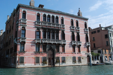 Typical Venetian building