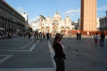 Flashpacking Wife in Piazza San Marco