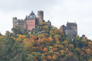 Castles overlooking the Rhine