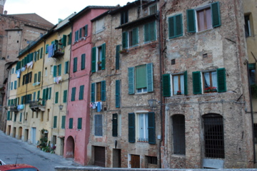 Houses in Sienna