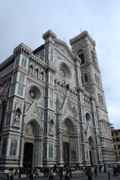 Beautiful church in Florence