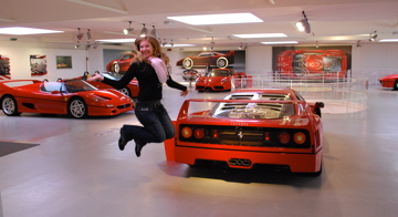 Flashpacking Wife at the Ferrari Museum