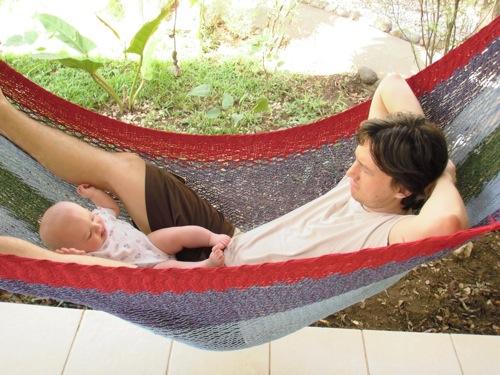 Hammock with Dad